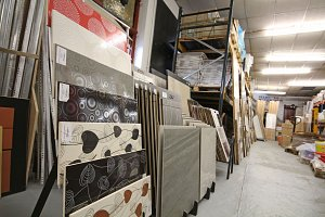lots of tiles in stock.